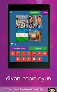 Ölkəni tapın - məlumatlı oyun azərbaycan dilində for PC-Windows 7,8,10 and Mac apk screenshot 6