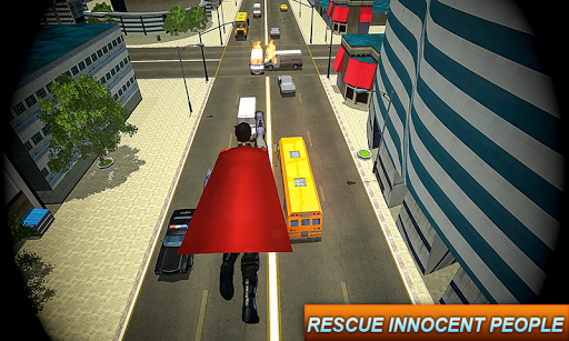 Superhero Games: Fighting Mafia War Rescue Mission  captures d'u00e9cran 2