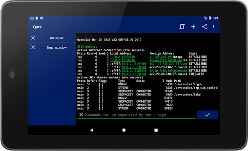 App Qute: Command Console & Terminal Emulator APK for Windows Phone
