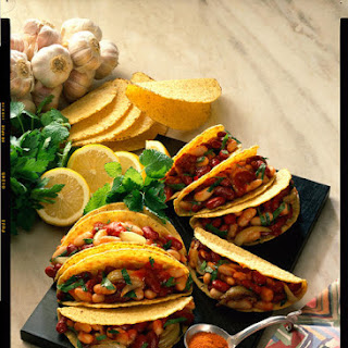 Stuffed Bean Tacos