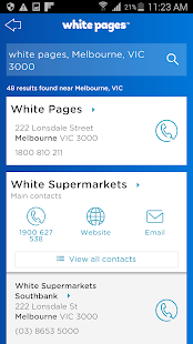 White Pages® Australia- screenshot thumbnail