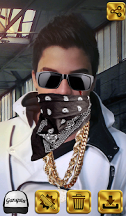 Gangsta Pic Editing screenshot