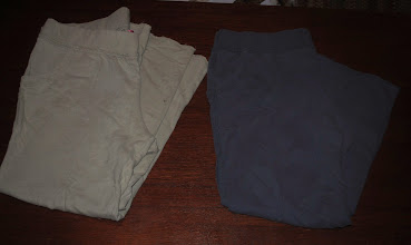 """Photo: Liz Lange Maternity XL Lounge/Yoga pants. Sage Green and Slate Blue/Grey $4 each. These are SO comfy and are the perfect """"wear home from the hospital"""" pants too!"""