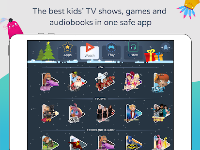 Azoomee: TV, games, audiobooks- screenshot thumbnail
