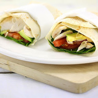 Chicken Avocado Wrap Recipe