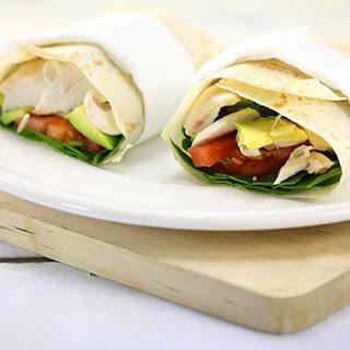 Chicken Avocado Wrap.