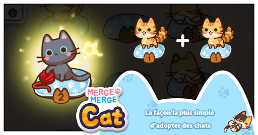 Télécharger Merge Merge Cat ! APK MOD 2