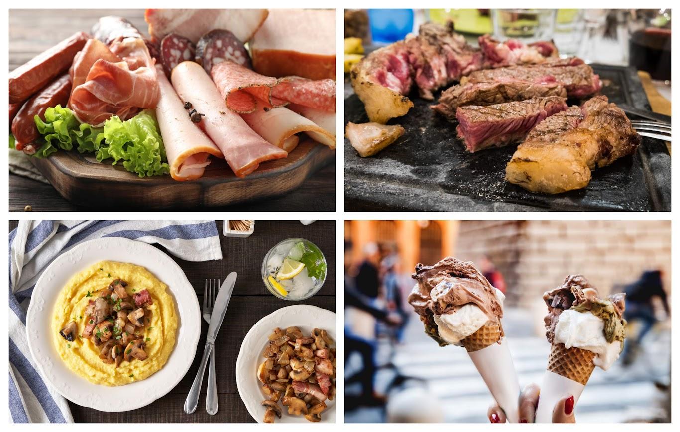 platos típicos de Italia