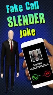 Fake Call Slender Joke - náhled