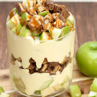 Apple Snickers Salad.
