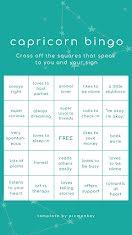 Capricorn Bingo - Facebook Story item
