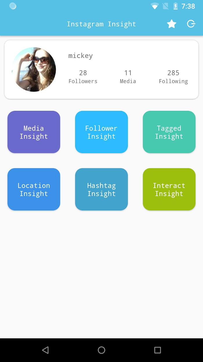 Followers Insight for Instagram, tracker, analyzer v1 8 For