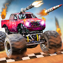 Monster Truck Shooting Race 2020: 3D Racing Games icon