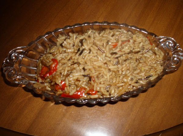 Asian Red Pepper Rice Recipe