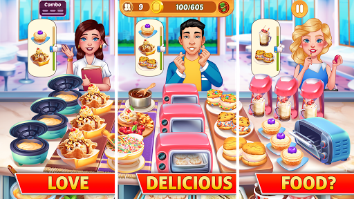 Kitchen Craze: Fever of Frenzy City Cooking Games Apk 1