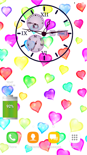 Download Love Clock Themes Live Wallpaper Google Play softwares
