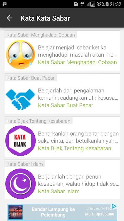 Kata Kata Sabar Android приложения Appagg