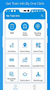 My Train Info – IRCTC, Indian Railways & PNR App Latest Version  Download For Android 1