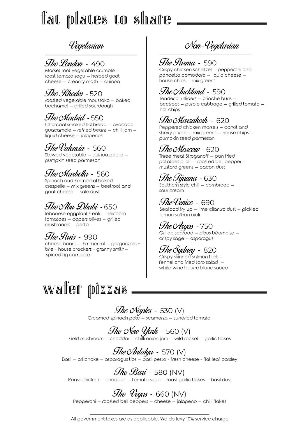 Rocky Star Cafe & Bar menu 6