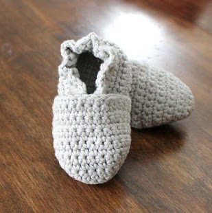 Baby Crochet Slippers - náhled