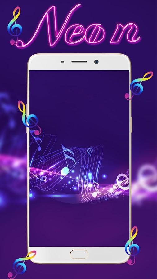 neon violin wallpaper - photo #15