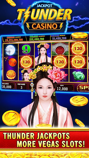 Thunder Jackpot Slots Casino - Free Slot Games screenshots 4
