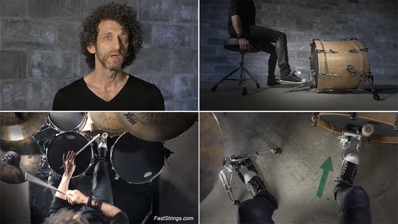 Jojo Mayer - Secret Weapons For The Modern Drummer 2: A Guide to Foot Technique