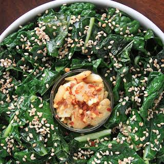 Garlicky Lacinato Kale.