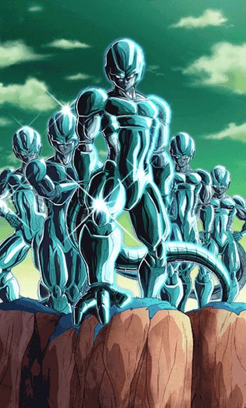 圧倒的な大軍団・メタルクウラ軍団