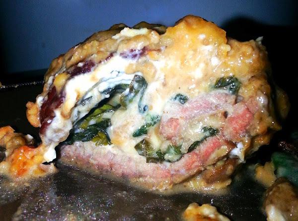Cheese And Basil Stuffed Beef Recipe