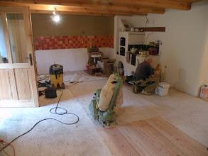 Photo: broušení podlah