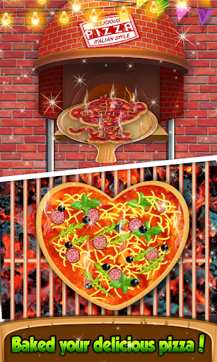 Pizza Chef - cute pizza maker game 4.8 de.gamequotes.net 5