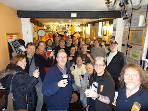 Photo: Owen Ogletree took 20 beer writers, brewers, pub managers and retail beer store owners on a ten day, epic real ale journey to the UK in February of 2013.