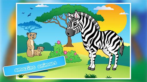 子供のため動物のジグソーパズル