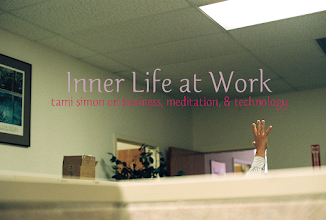 "Photo: THIS WEEK: ""Inner Life at Work: Tami Simon on Business, Meditation, & Technology""  http://www.onbeing.org/program/inner-life-at-work-tami-simon-on-business-meditation-and-technology/5556  Krista's interview with Tami Simon is one of those conversations that appeals on so many different levels... for so many different reasons!  Ms. Simon is a kind of ""spiritual entrepreneur"" who talks business with a meditative mindset. She's built a successful multimedia publishing company with a mission to disseminate ""spiritual wisdom"" by diverse teachers and thinkers like Pema Chödrön and Eckhart Tolle, Daniel Goleman and Brené Brown. She offers compelling lessons on joining inner life with life in the workplace — and advice on spiritual practice with a mobile device."