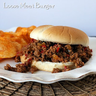 Loose Meat Sandwiches.