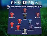 Heel wat teams dubbel vertegenwoordigd in het Team van de Week!