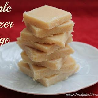 Maple Freezer Fudge (dairy-free).