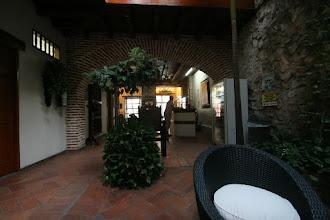 Photo: Die Lobby unseres Hotels in Cartagena