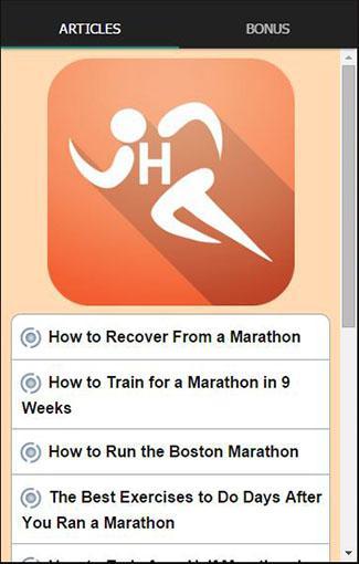 하프 마라톤 훈련 계획