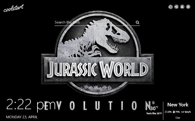 Jurassic World Evolution HD Wallpapers Theme