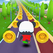 Panda Panda Run: Panda Running Game 2020