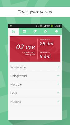 Easy Period Calendar - screenshot