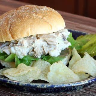 Perfect Turkey Salad Sandwich.