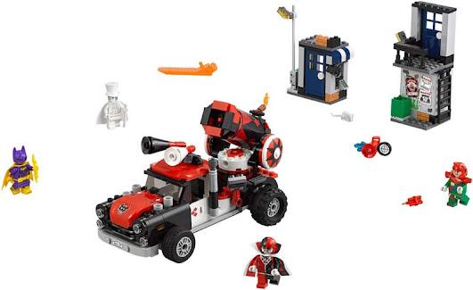 Contenido de Lego® 70921 Cañón de Harley Quinn™