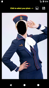 Air Hostess Face Changer - náhled