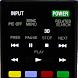 Sonyテレビのリモートコントロール