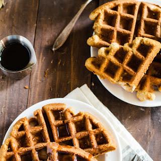 Apple Bread Waffles