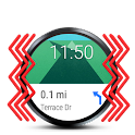 GPS Nav with Wear vibrations icon
