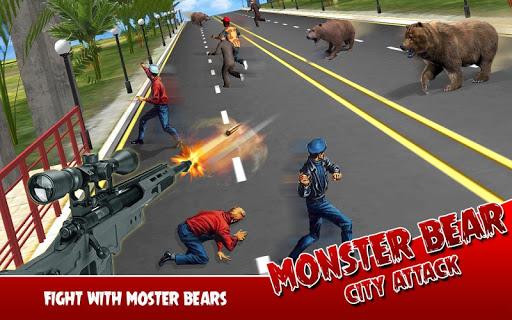 Monster Bear: City Attack